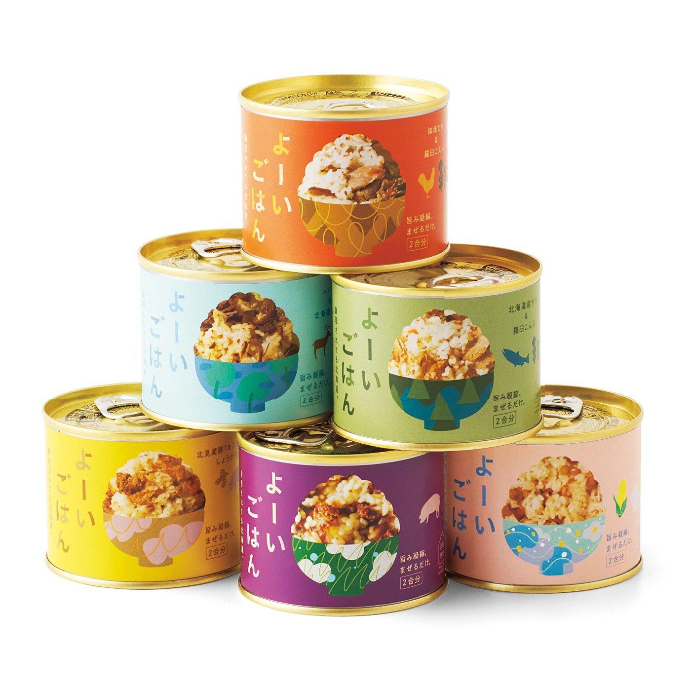 純農 北海道の旅館が本気を出した! スペシャル缶詰 よーいごはんの会(12回予約)
