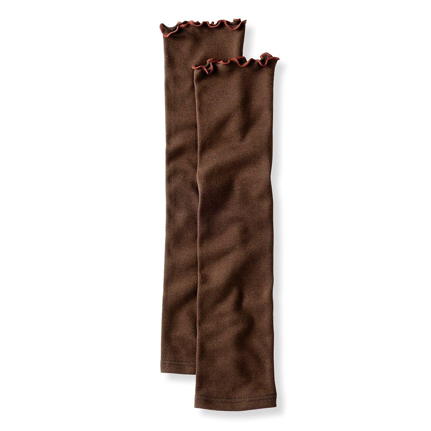 こそっとあたたか袖だけ重ね着 上下で使える 綿100%アームカバー