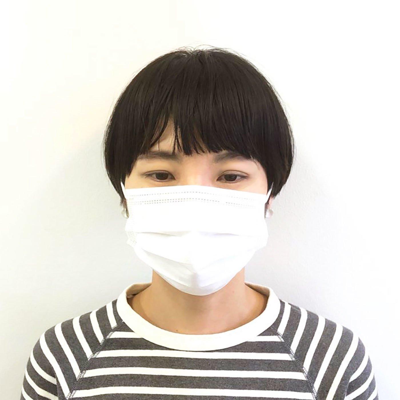 3層フィルターの使い捨て不織布マスク50枚入り