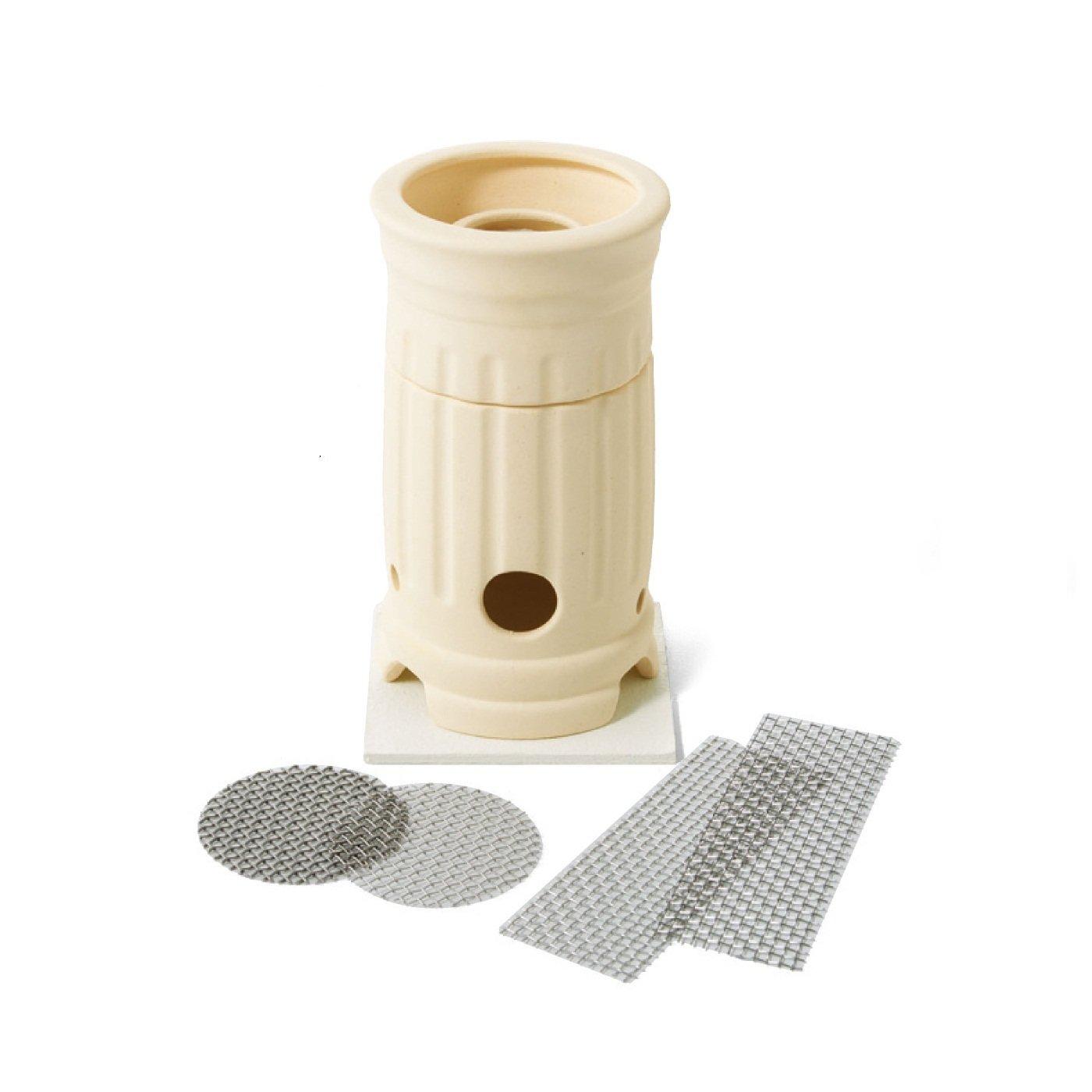 シルバークレイアクセサリーを楽しむ  PMC銀粘土専用 焼成ポット