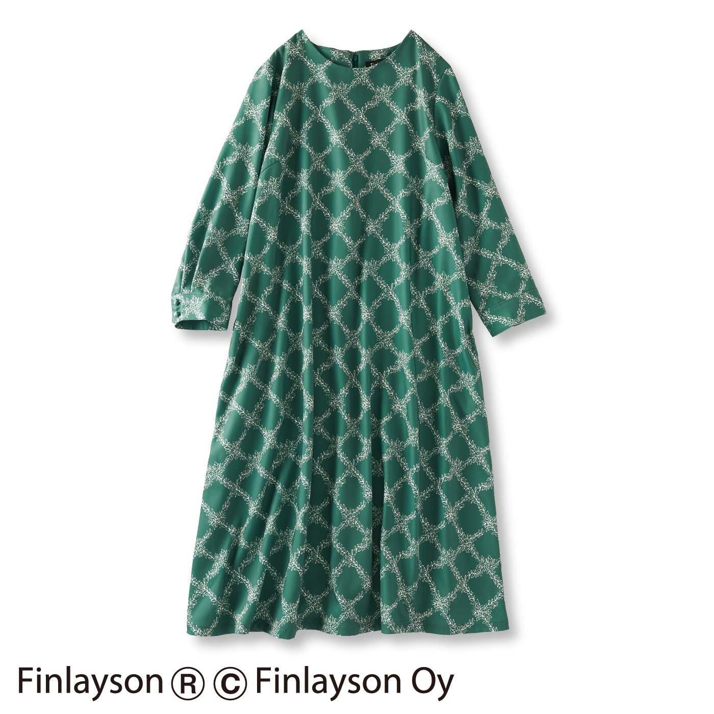 フィンレイソン すっきりAラインワンピース〈PERGOLA〉パーゴラ