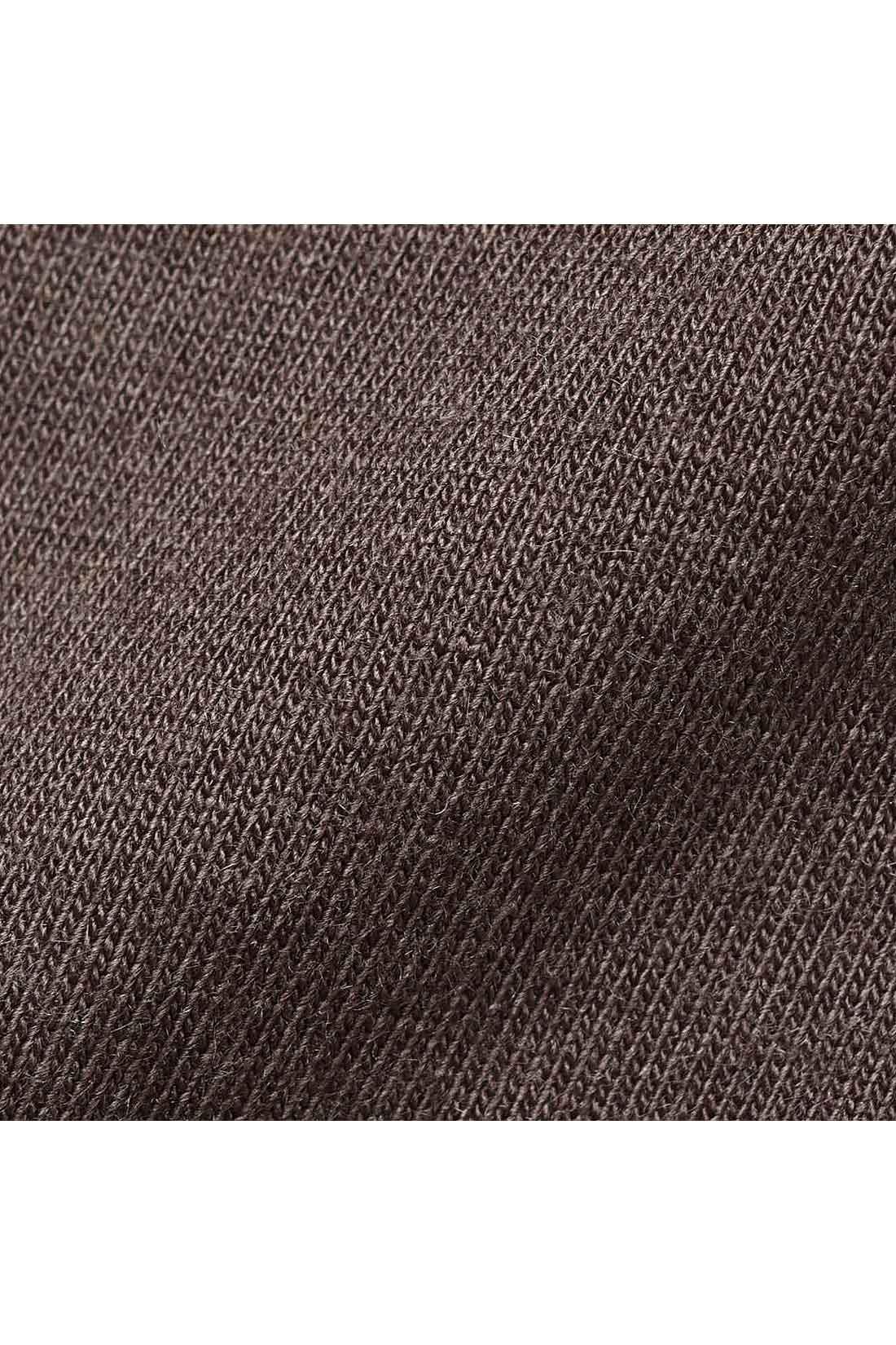 100%天然由来の新素材。やわらかく通気性のよいバイロフトを使用した綿混素材でいつもさらさら。