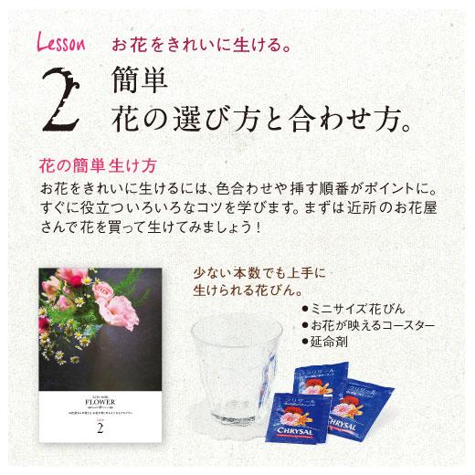 Lesson2 お花をきれいに生ける。簡単 花の選び方と合わせ方。