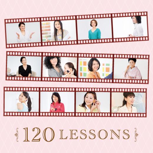 心とルックスを磨く美への習慣120。自分をより魅力的に演出するノウハウを学ぶ。