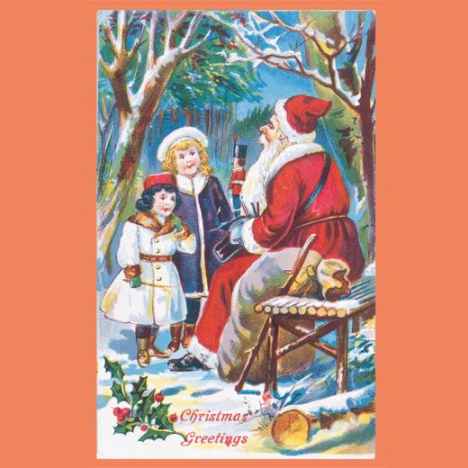 テーマ:Meeting Santa Claus[サンタに会いたい] ※お届けするカードの一例です