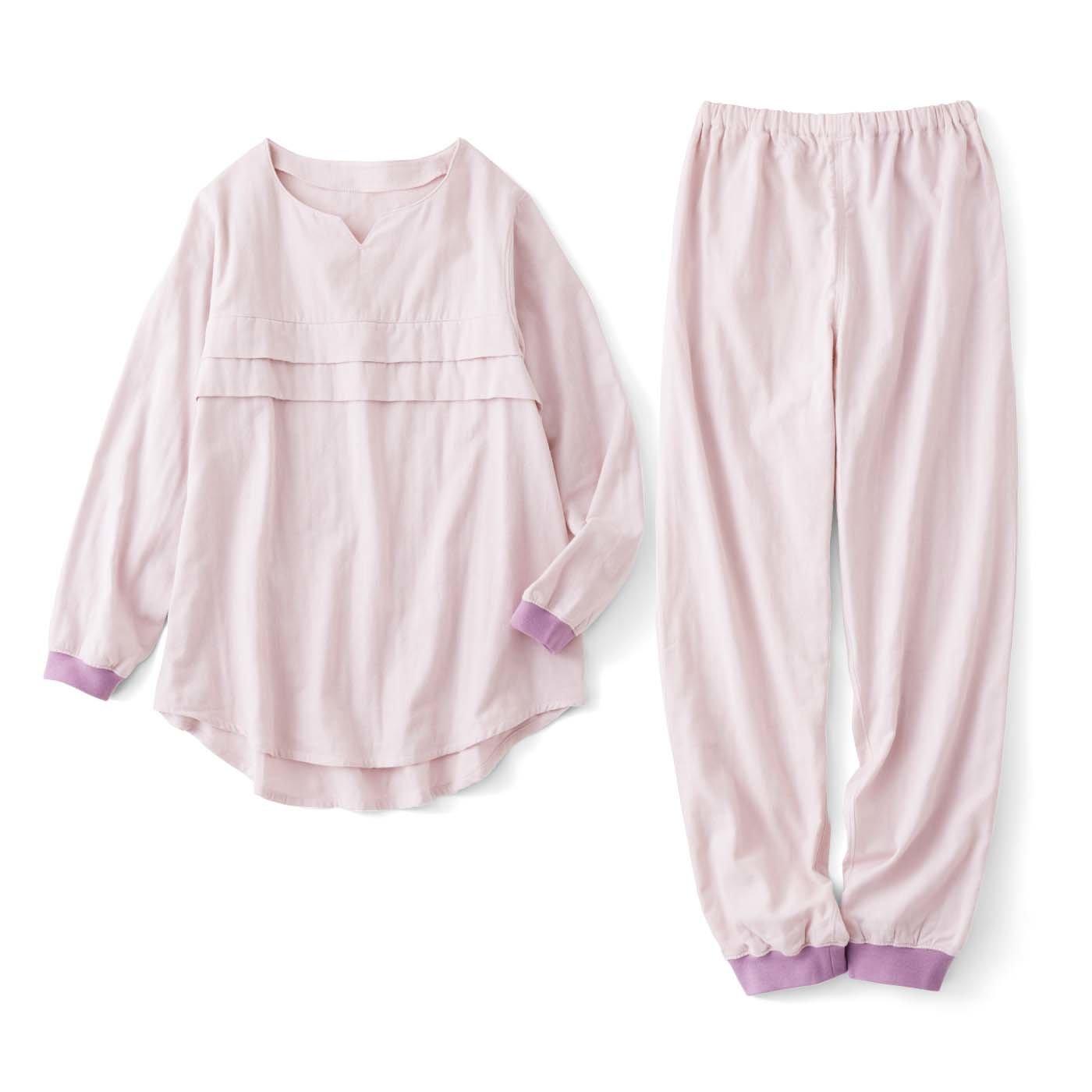 とっておきの休息タイム心地よく過ごすための綿ダブルガーゼパジャマ〈うすざくら〉