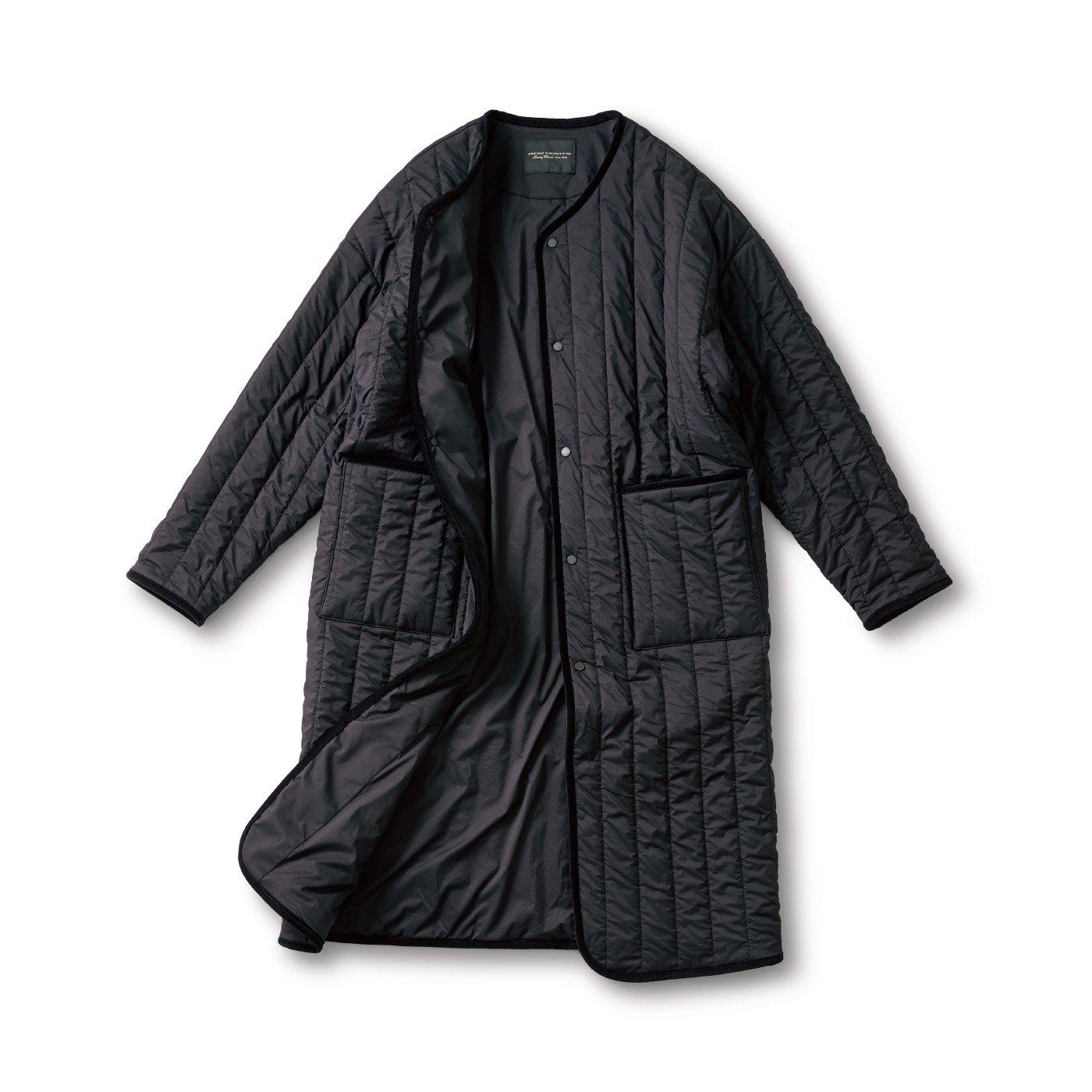 SUNNY CLOUDS 縦キルトのコート〈メンズ〉