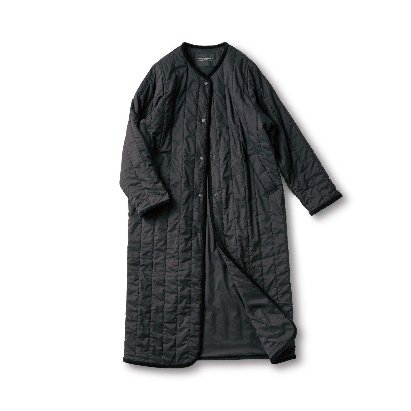 SUNNY CLOUDS 縦キルトのコート〈レディース〉