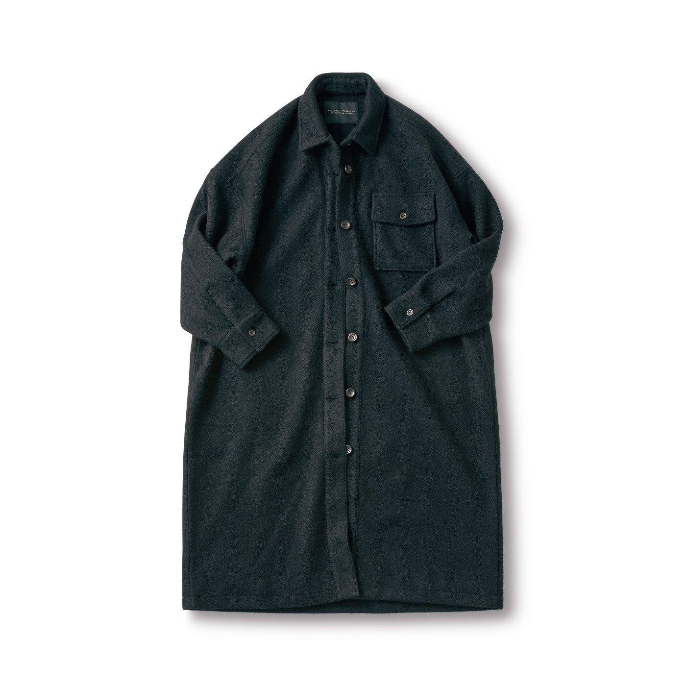 SUNNY CLOUDS コートになったシャツ〈レディース〉