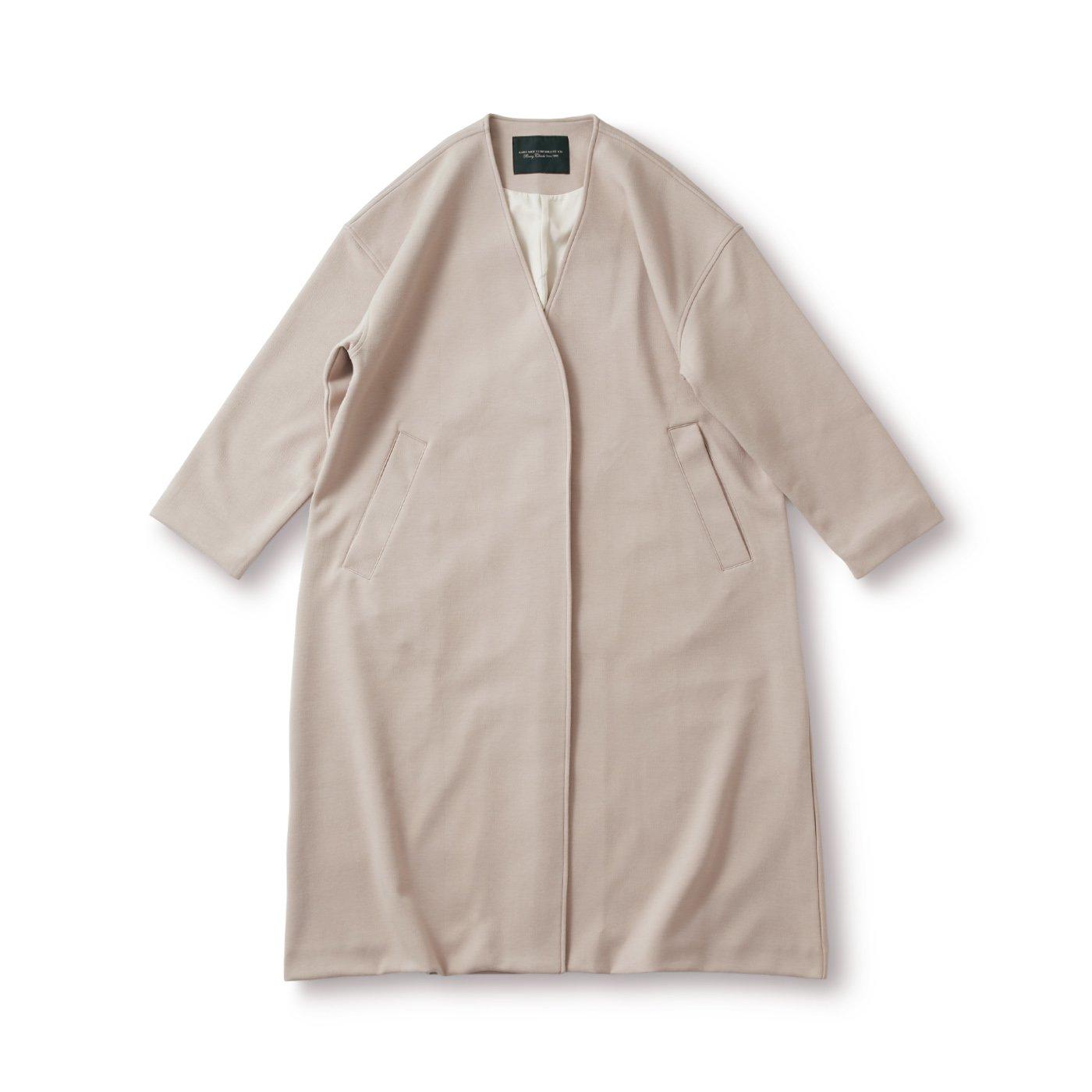 SUNNY CLOUDS 素敵なノーカラーコート〈レディース〉