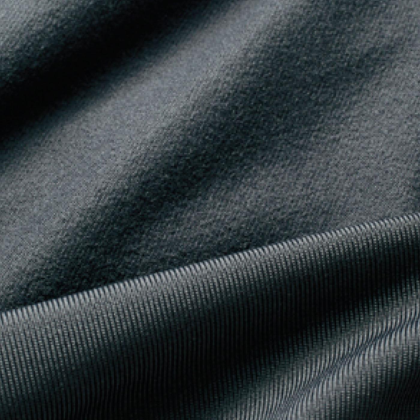 微起毛素材で心地よく暖かい。