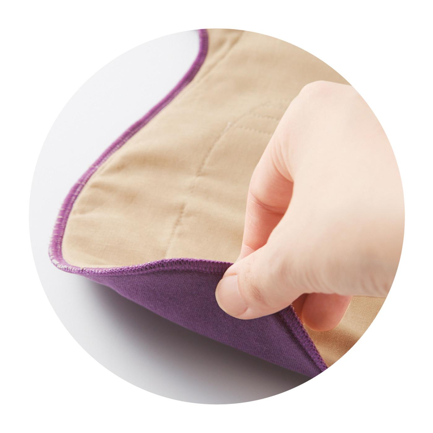 普通の布ナプの約2倍の吸収力。なのに薄さは、今までの布ナプ以下!