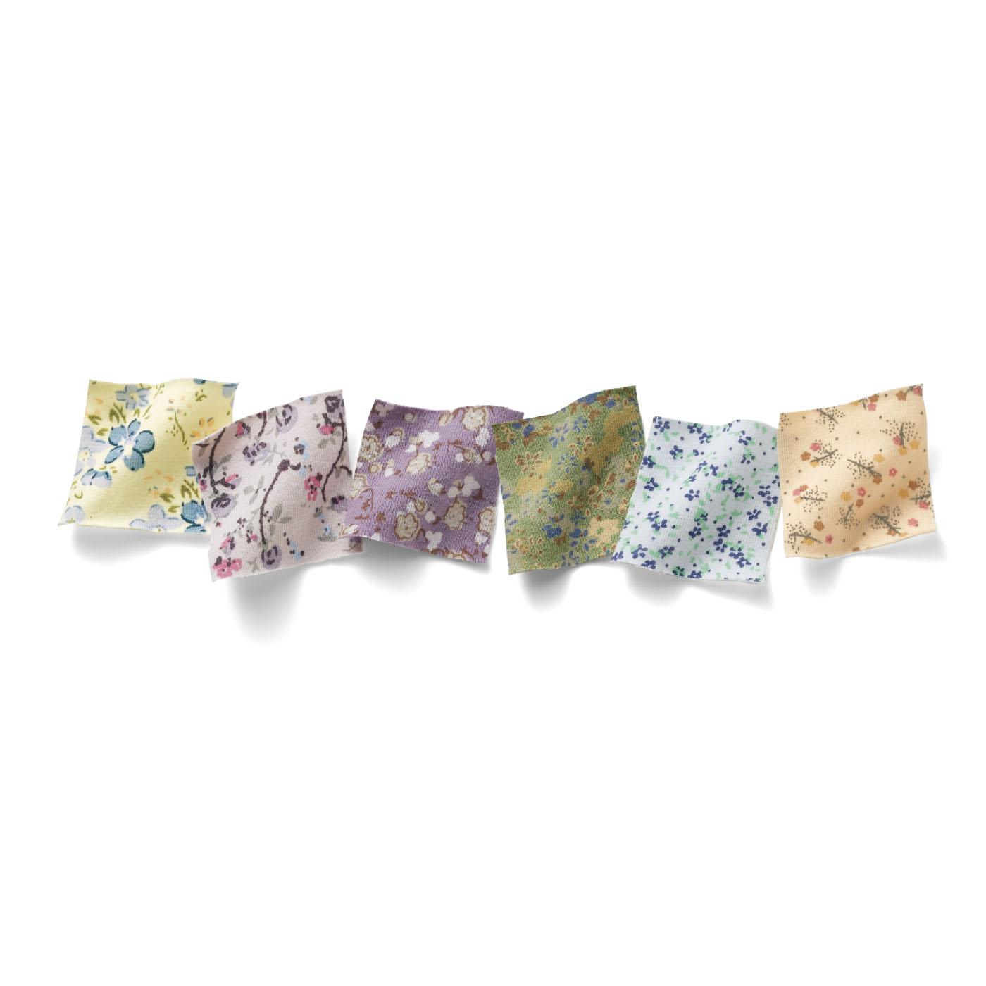 ※「お花柄のリラックスするブラ」は「小花柄タンクトップ」「小花柄ショーツ」と同時にお申し込みの場合、おそろいで届くとはかぎりません。