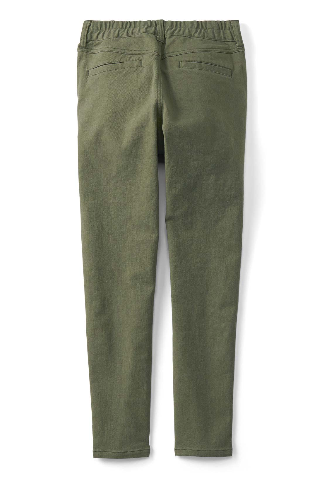 <BACK>後ろヨークの切り替え&玉縁ポケットで美尻効果はバツグン! ※お届けするカラーとは異なります。