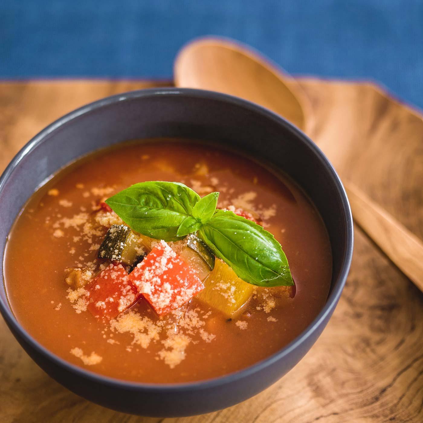 スープ、めん類、お粥など、幅広く使って。