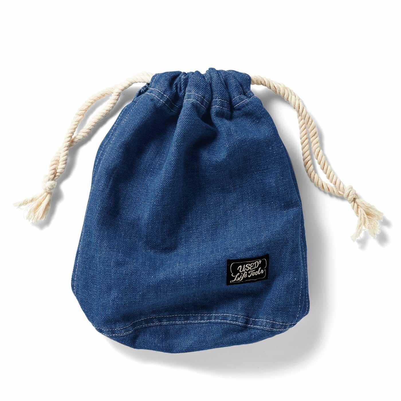 整理整とんの達人に! 暮らしがすっきりしていく 毎日使いの青い小物〈巾着袋〉