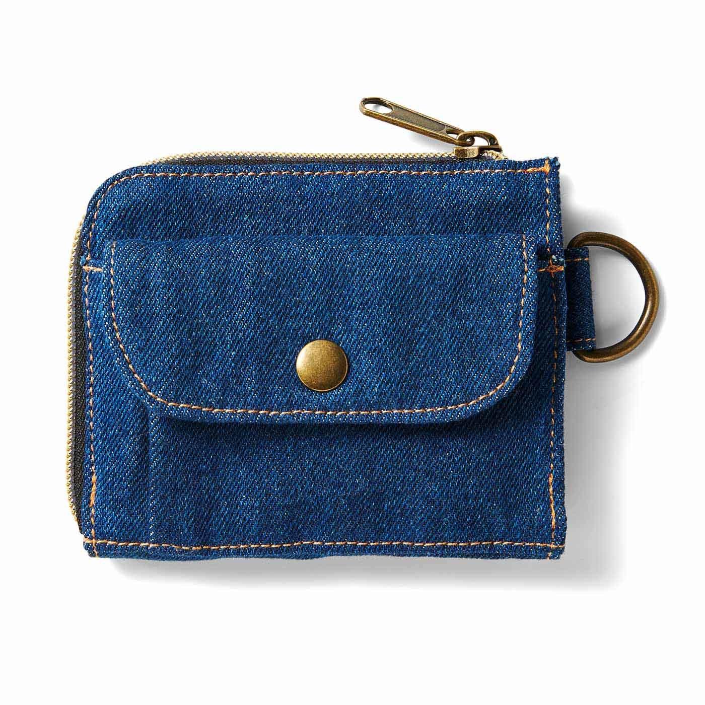 整理整とんの達人に! 暮らしがすっきりしていく 毎日使いの青い小物〈財布〉