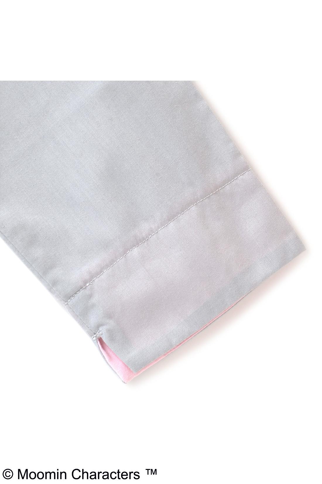 袖は、折り返しても折り返さなくてもかわいいよ。