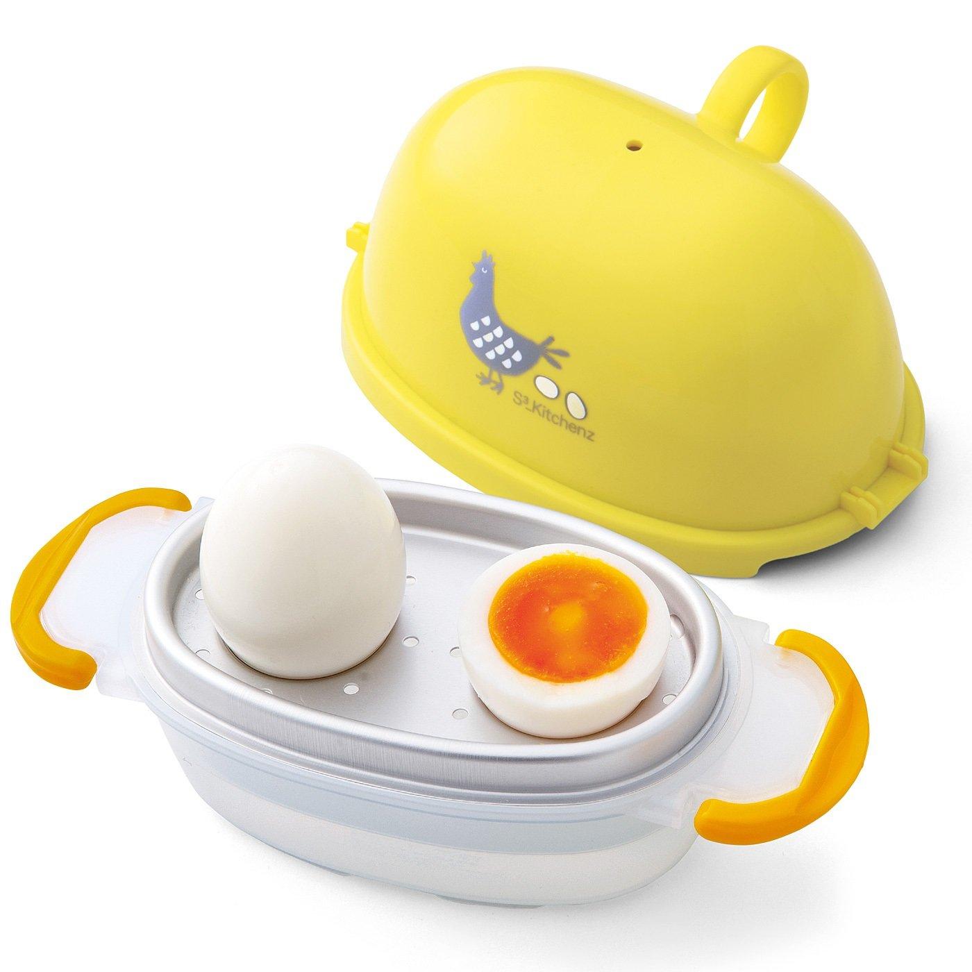 電子レンジでらくチン調理 手軽に一品増やせる ゆで卵クッカー