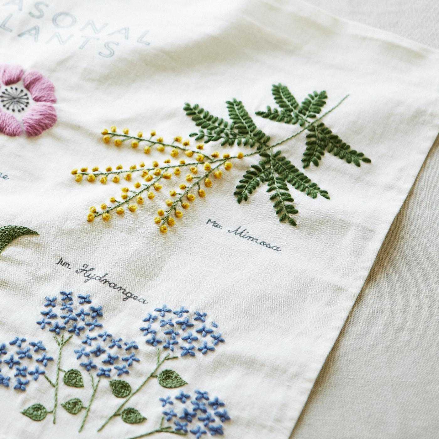 生地の端は縫製済みなので、ミシンは必要ありません。