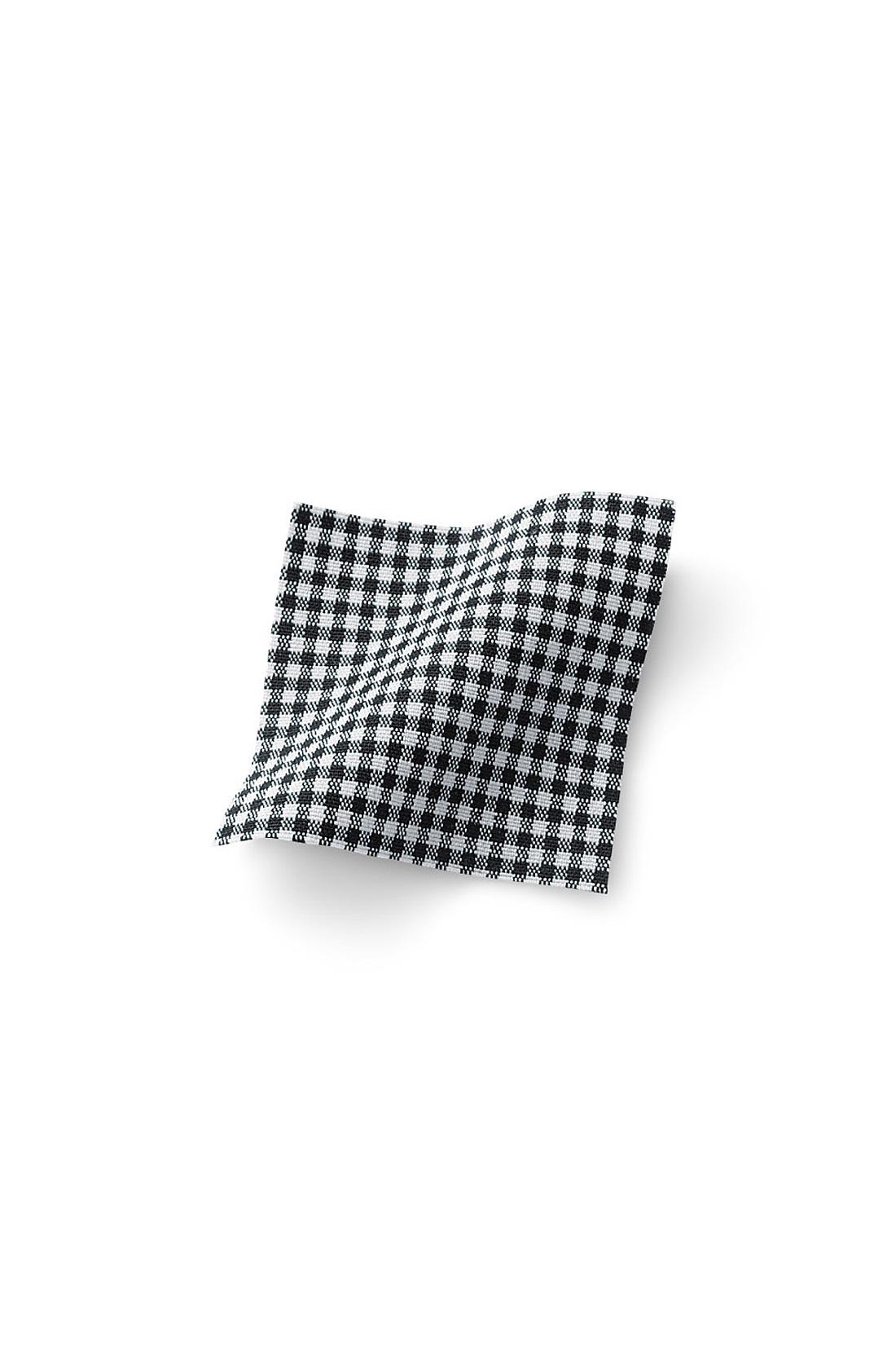 綿混の接触冷感素材で夏もさらっと快適に!