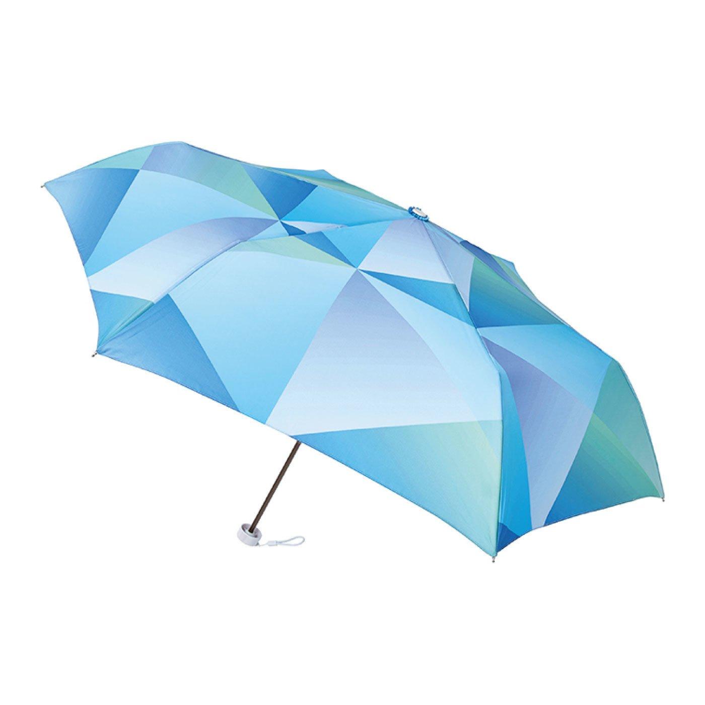 雨晴兼用UV防止 estaa / エスタ ミニ傘UV 『プリズム』