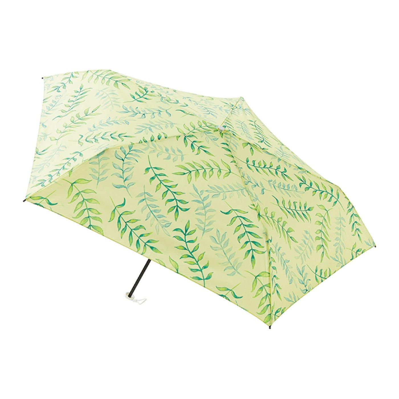 雨晴兼用UV防止 estaa / エスタ 軽量ミニ傘UV 『リーフ』