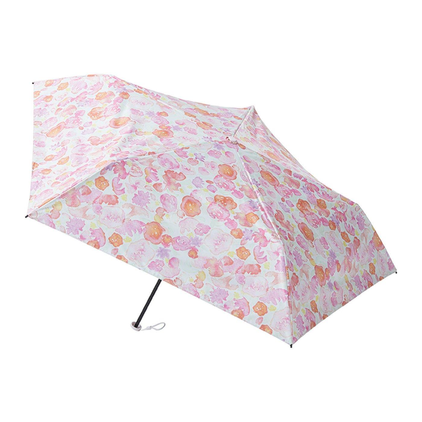 晴雨兼用 estaa / エスタ 一級遮光 超軽量傘 『ブーケ』