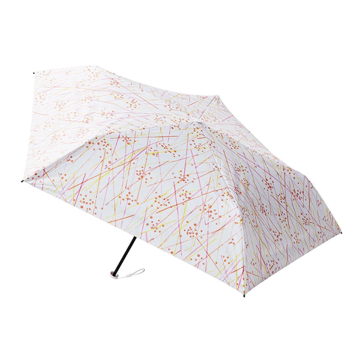晴雨兼用 estaa / エスタ 一級遮光 超軽量傘 『ライン』