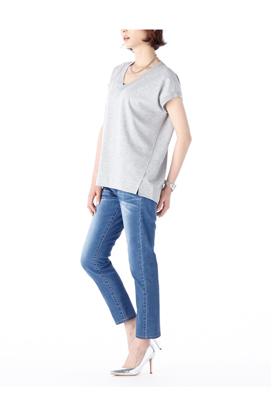 身長:165cm 着用サイズ:M ※着用イメージです。お届けするカラーとは異なります。
