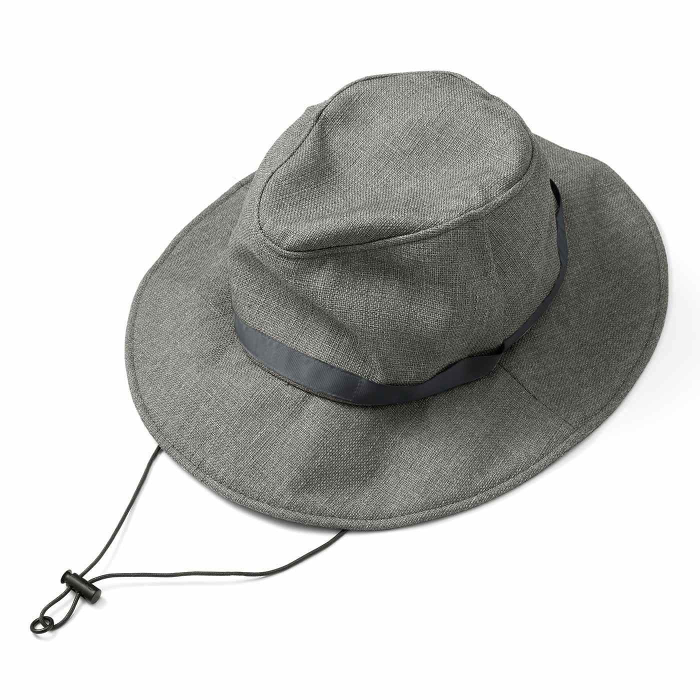 季節を問わずかぶりたい 風飛びしにくい たためるUVカット帽子の会
