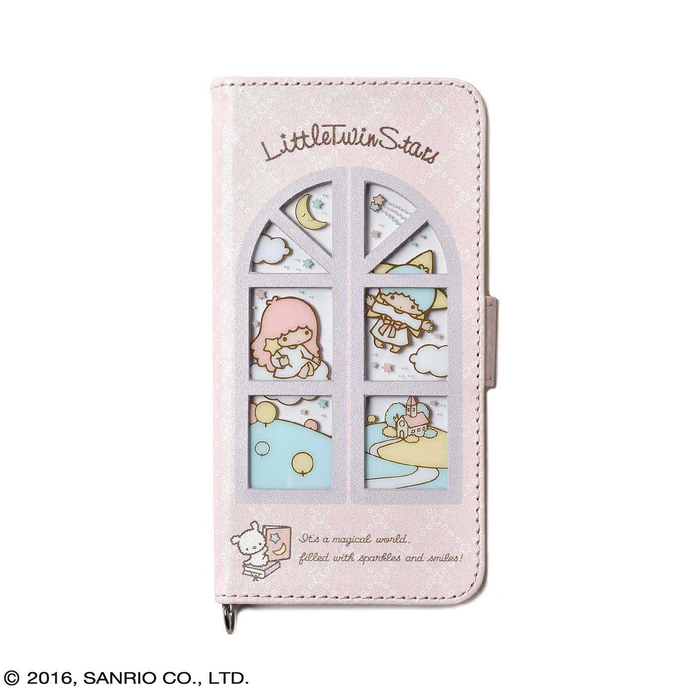 フェリシモ リトルツインスターズ 窓付きiPhone 6s/6ケース
