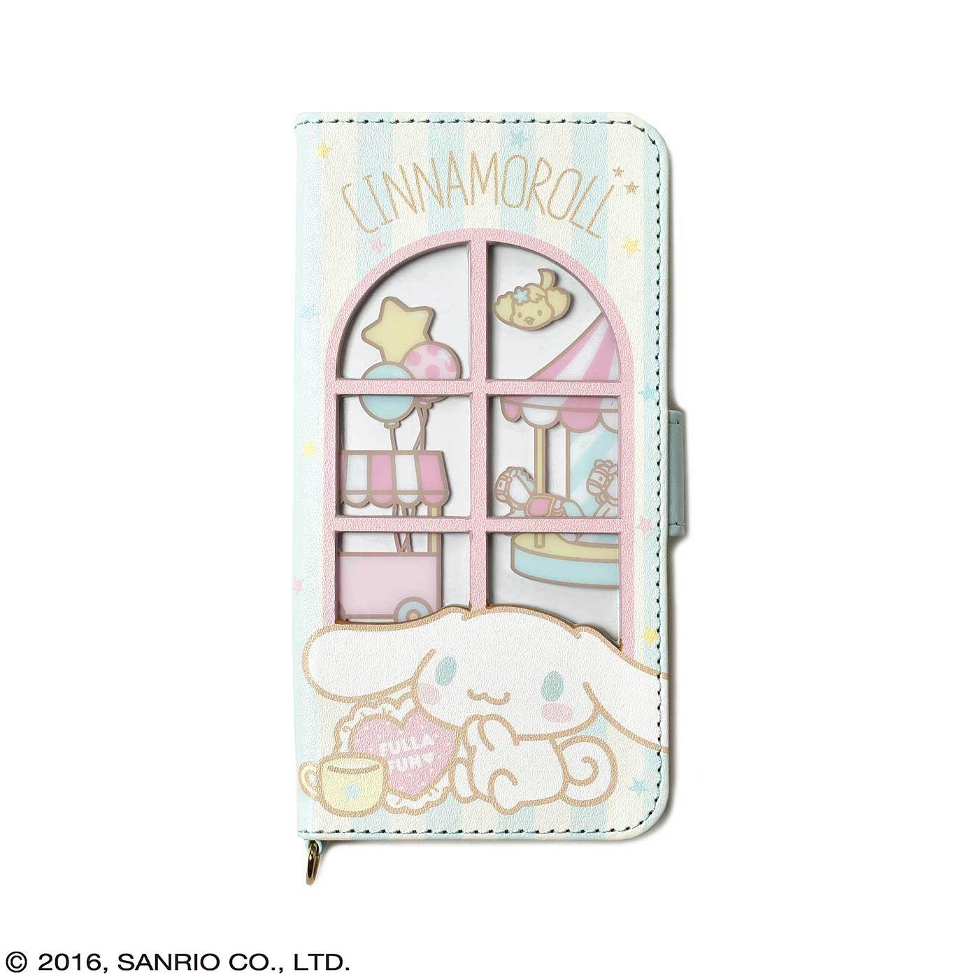 フェリシモ シナモロール 窓付きiPhone 6s/6ケース