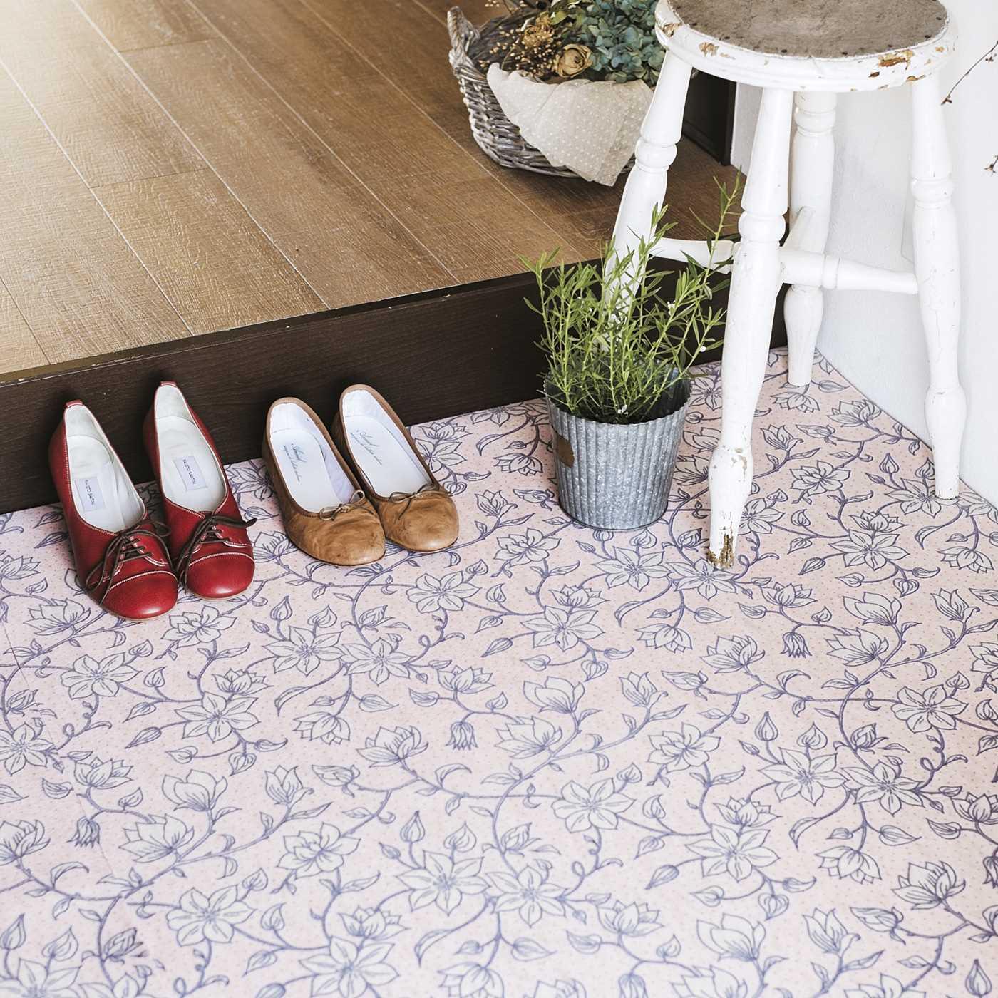 花咲く床にリメイク 抗菌防臭フロアシートの会