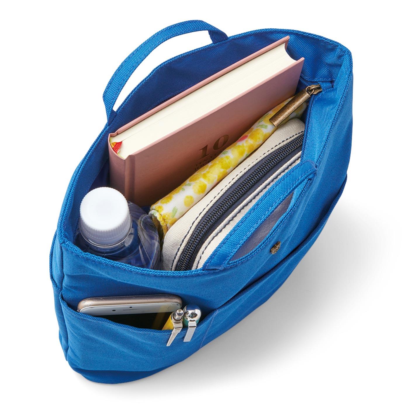 エッセイスト・整理収納アドバイザー柳沢小実さんと作った リュックや深めのバッグを整理整とん 縦型バッグインポケットの会