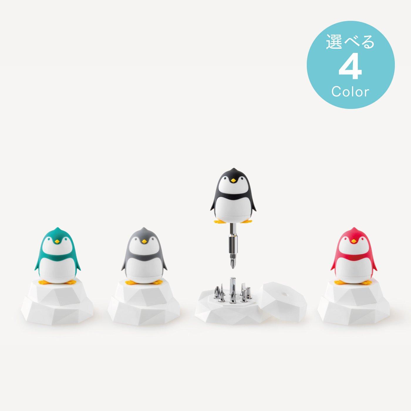アニマルドライバーセット Penguin with 氷山