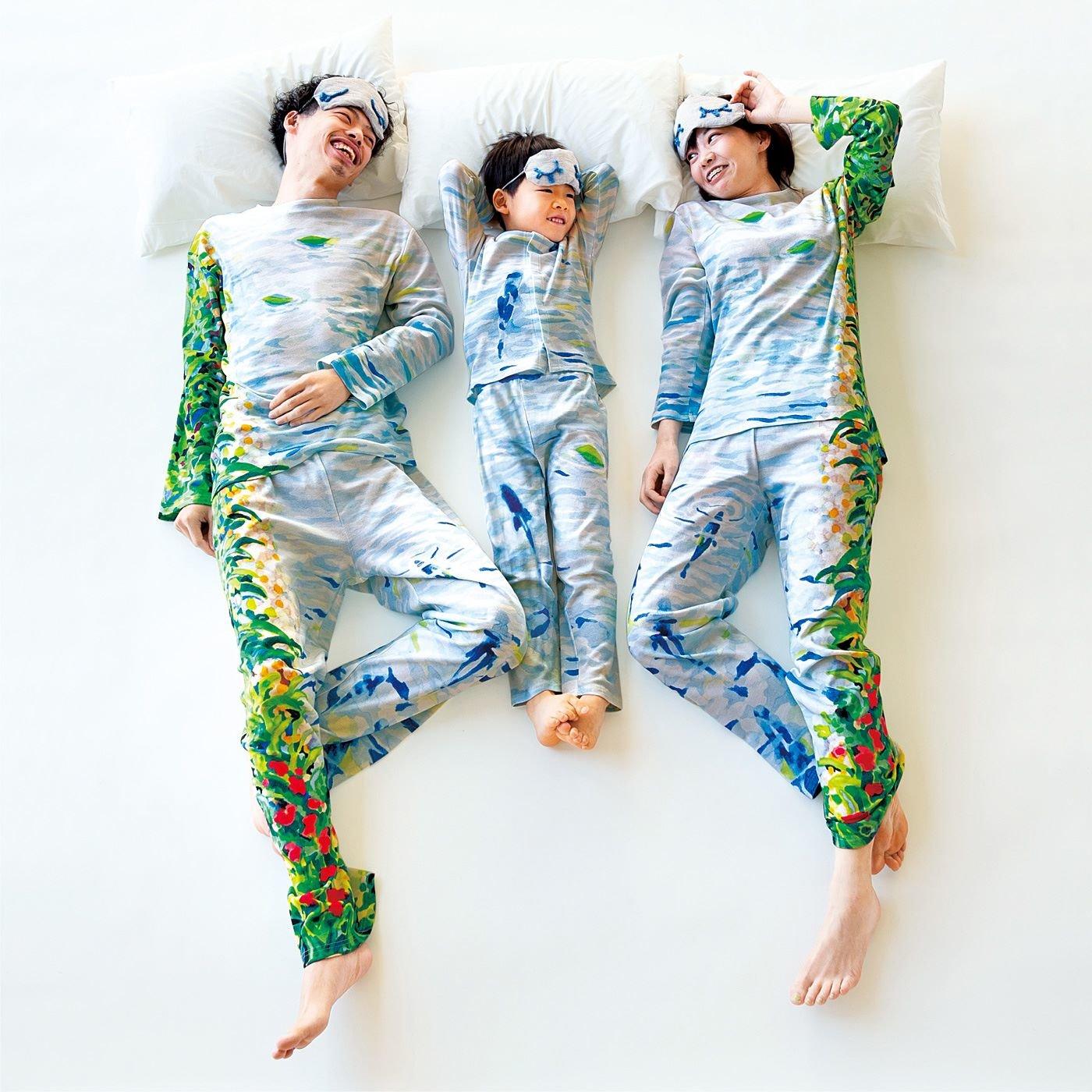 YOU+MORE! 親子でほのぼの 川の字パジャマ〈キッズ〉