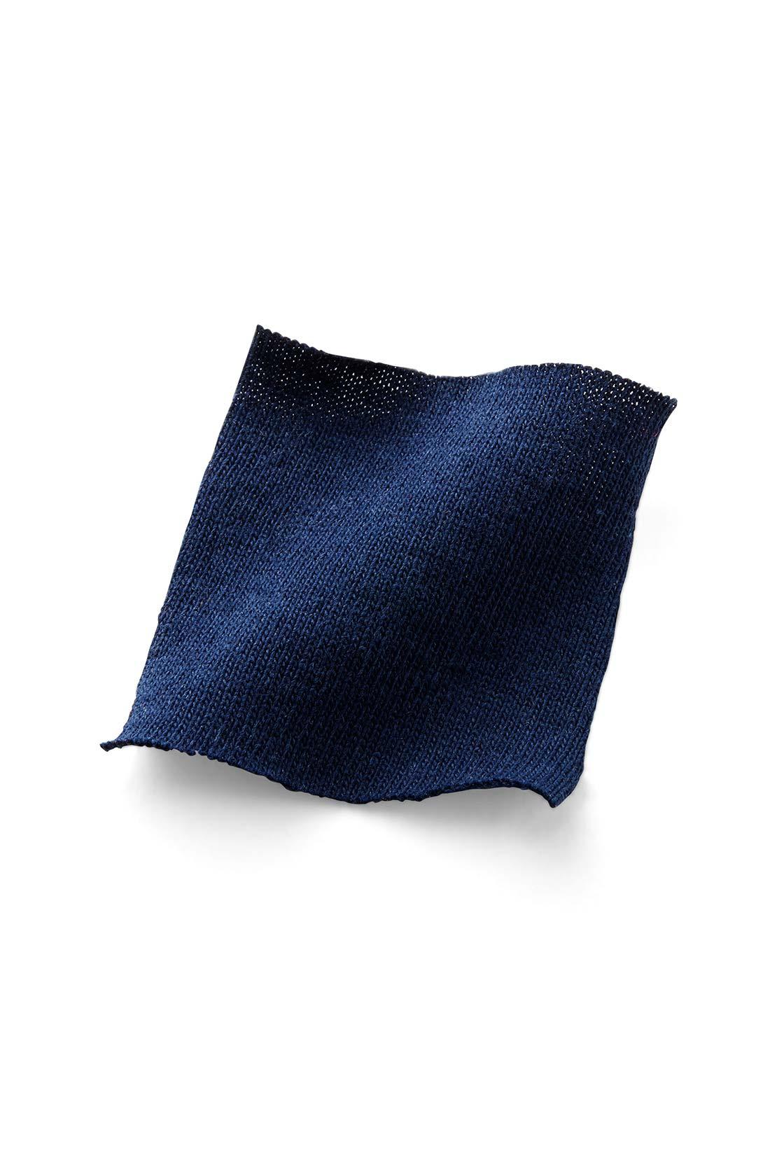 しっかりと厚みがあるヘビーオンスの綿100%だから透けにくく、ほどよい張りも◎。