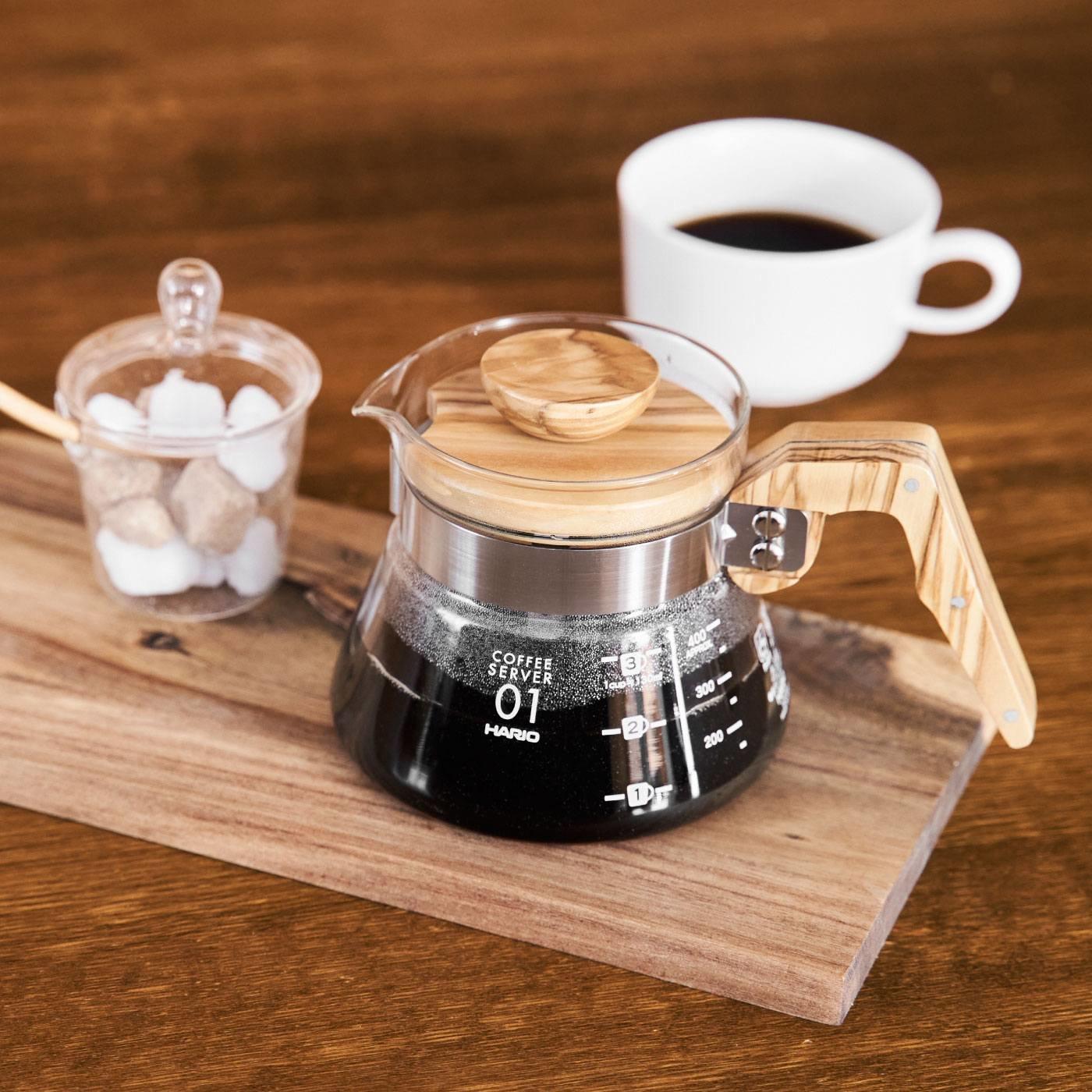am&be HARIO  コーヒーサーバー400 オリーブウッド