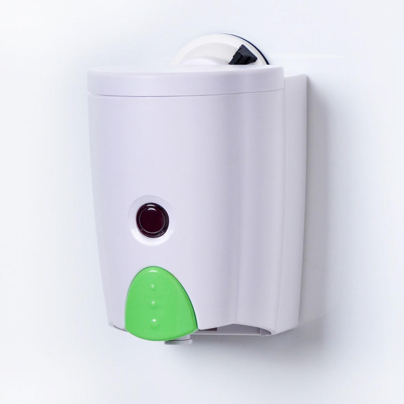 フェリシモ がっちり吸盤パワー スペースマジック ソープディスペンサー