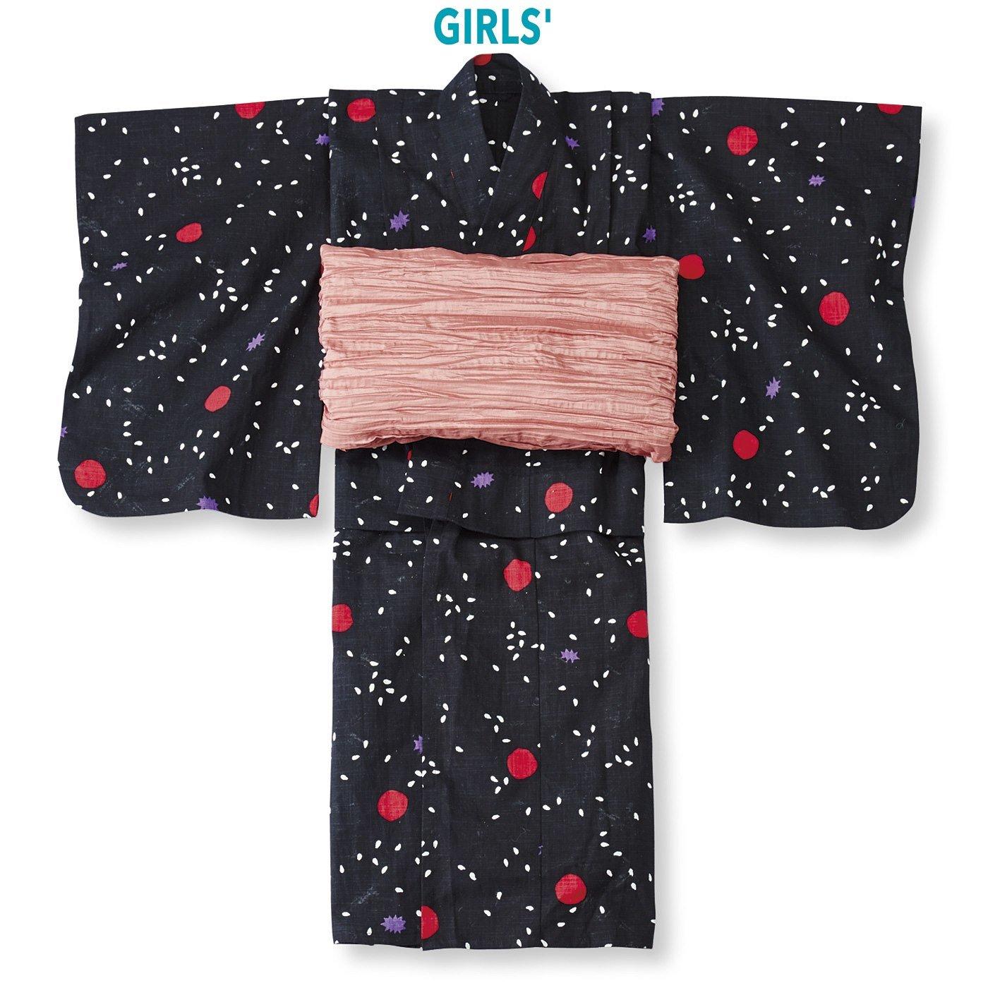 京都Subikiawa食器店さんとつくった 梅干ごはん柄の浴衣