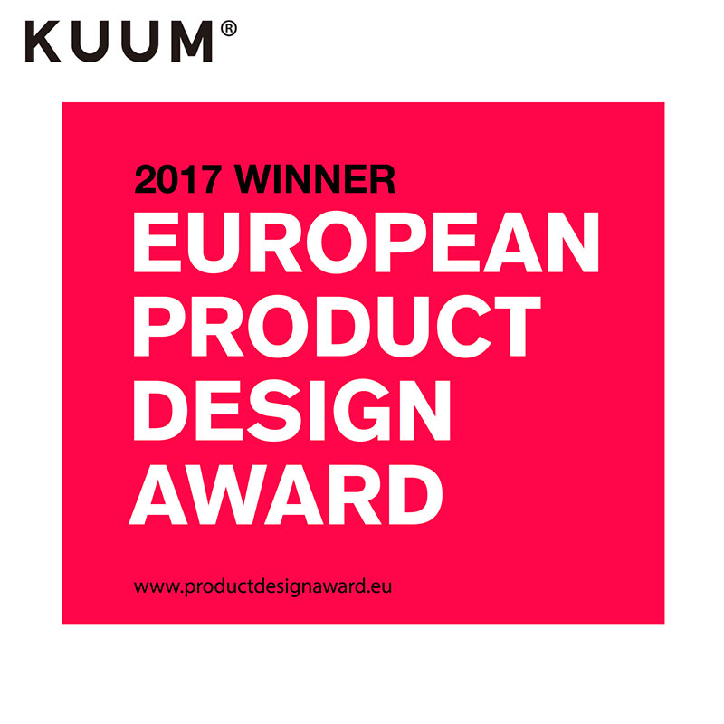 EUROPEAN DESIGN AWARD 2017 WINNER