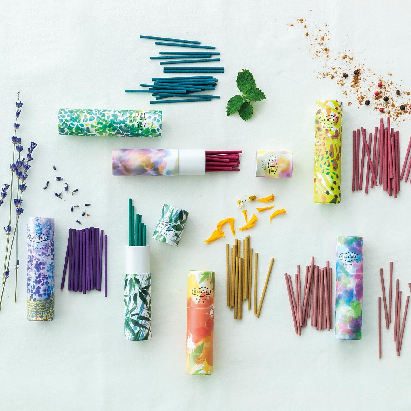 Kraso[クラソ] |ガラフル すきま時間に香り咲かせる スティック香セットの会