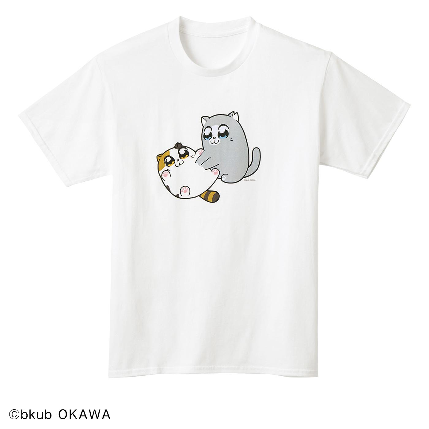 フェリシモ猫部|猫部×大川ぶくぶ 地域猫チャリティーTシャツ2020
