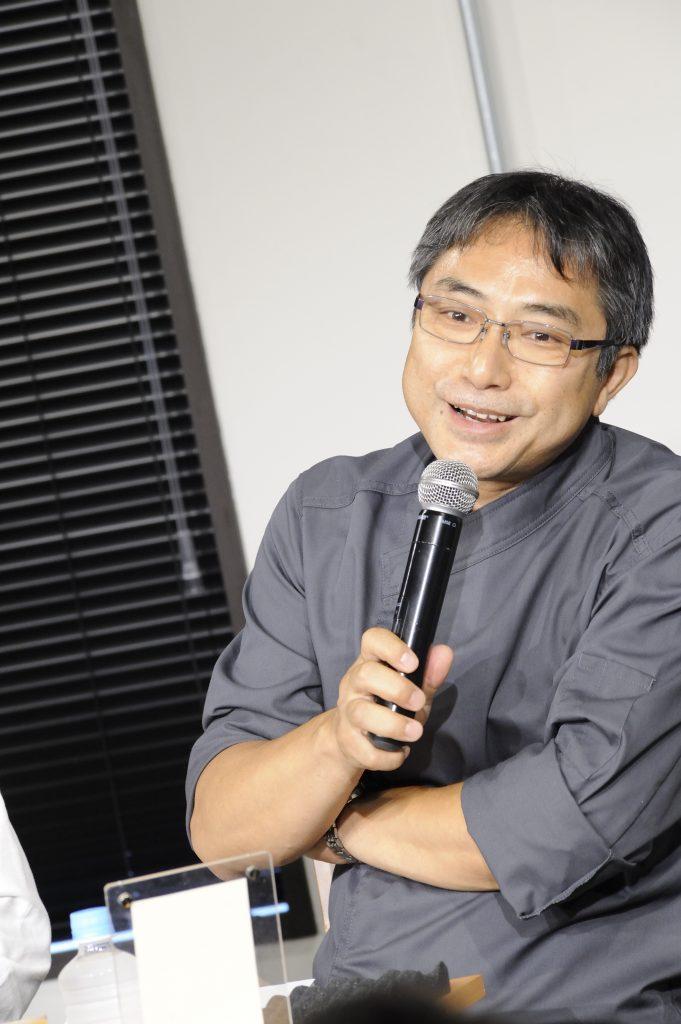 メディアについて話される山崎さん