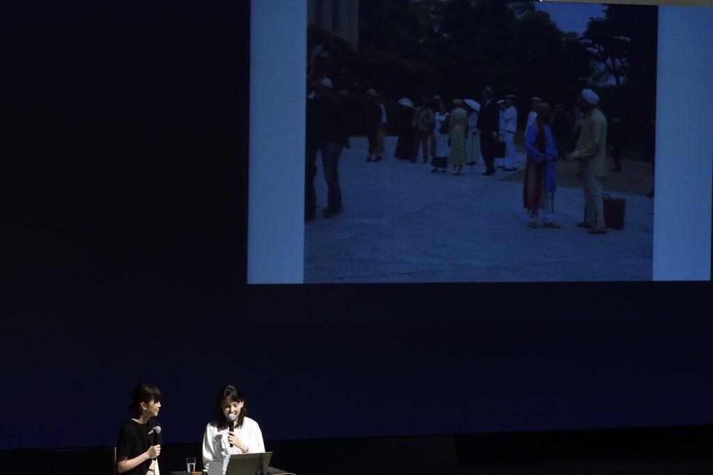NHKの朝ドラ『べっぴんさん』で、昭和9年のインターナショナル・シティー神戸再現のため、インド人の方ばかりでされてた運動会にスカウトに行ったお話をされる松下さん