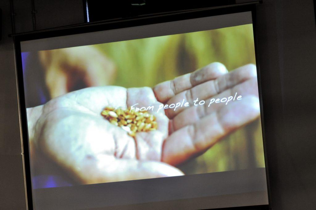 小麦畑とか農家さんとつながると語る山崎さん