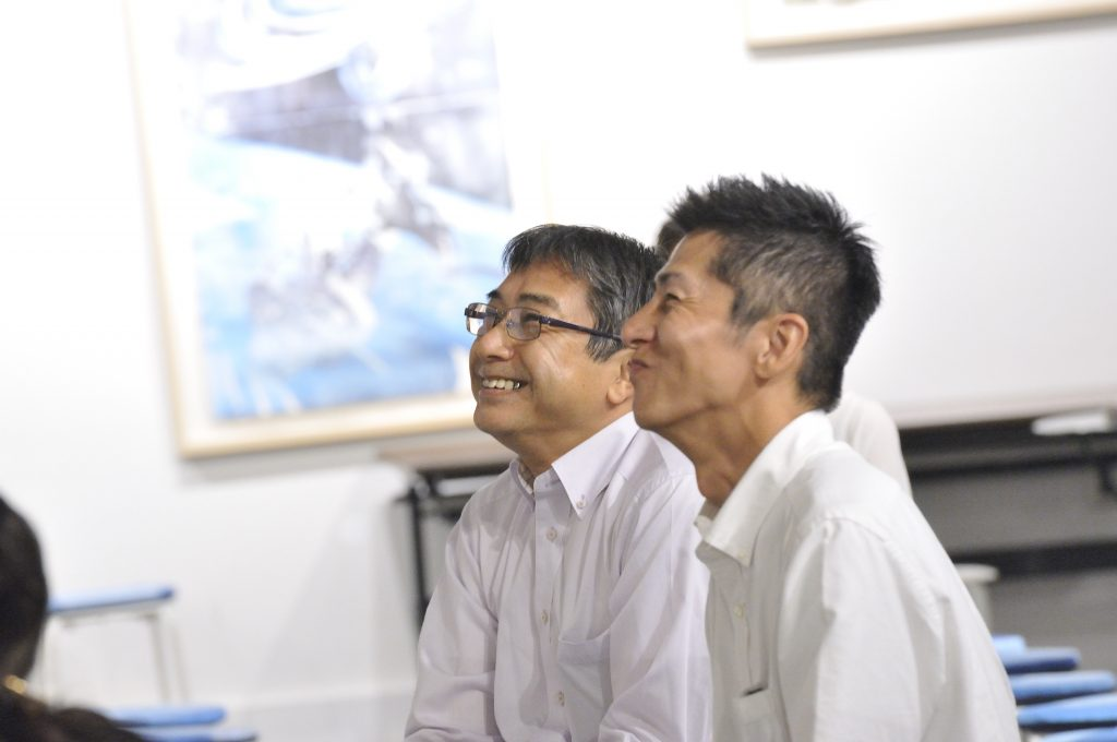 山崎さんと浅香さん