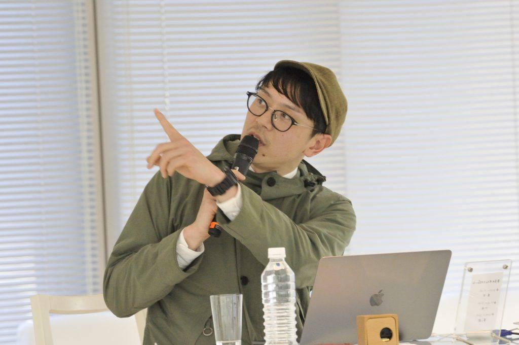 ソーシャルデザインについて語る兼松さん