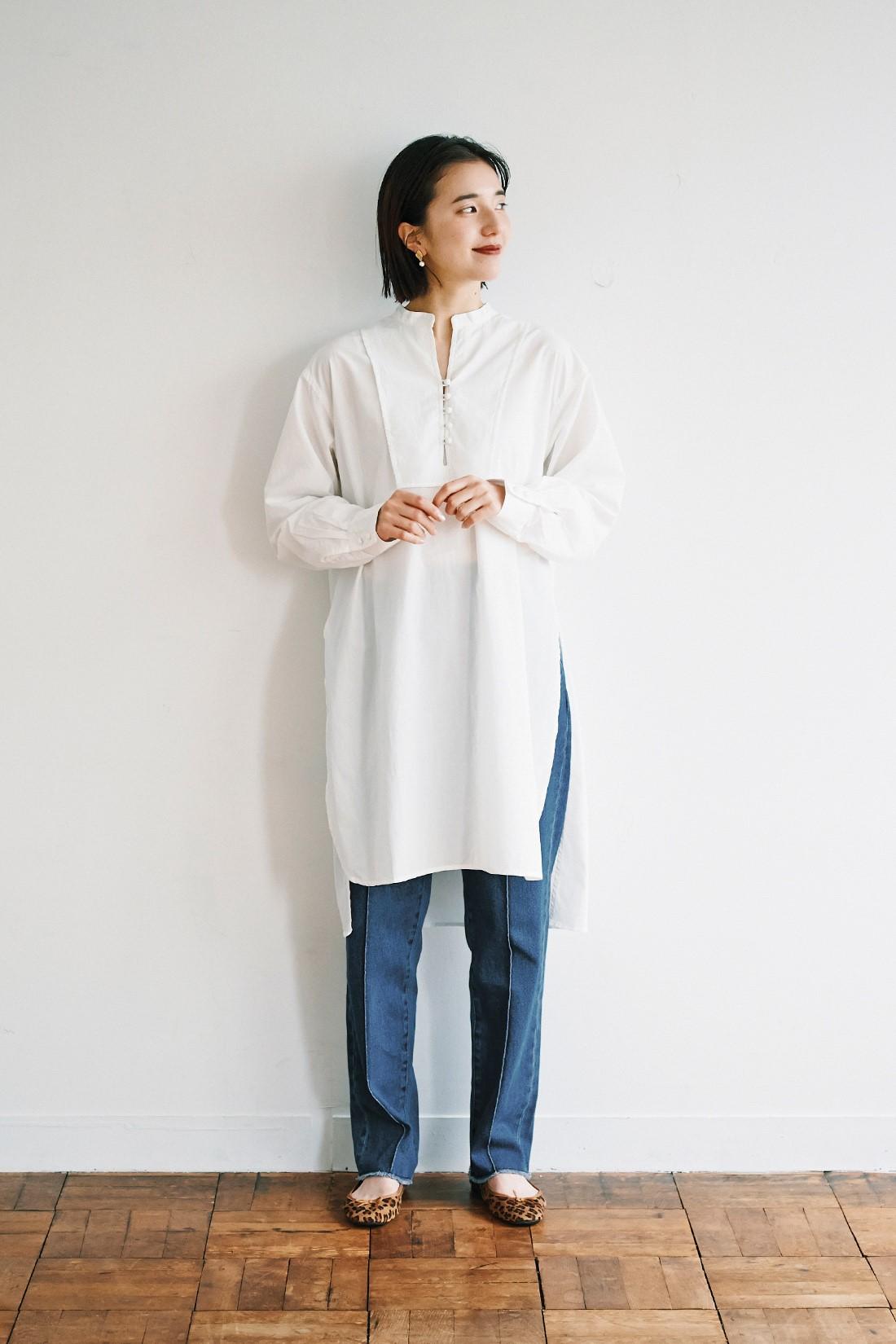 ロングシャツ パンツ